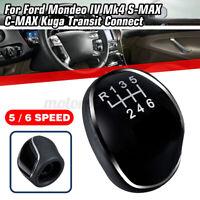 6 + R Levier de Vitesse Pommeau pour Ford Mondeo MK4 IV S-MAX C-MAX Kuga Transit