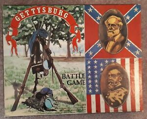 Avalon Hill    Gettysburg   board game unpunched (ish)