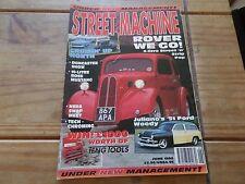 Street Machine  JUNE 1996 CUSTOM CAR MAGAZINE FOR COLLECTORS VINTAGE RETRO FORD