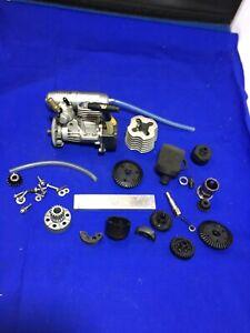 Tamiya Vintage Fs12s Nitro Motor Tns Tnx Etc Rc Car Spares Gear Parts Project