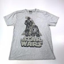 Star Wars Del Sol R2D2 C3PO T Shirt Size Medium Used #660