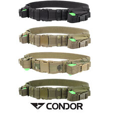 More details for condor tactical belt w/2 pistol mag carriers free uk delivery airsoft tb