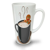 Chilling Gingerbread NEW White Tea Coffee Latte Mug 12 17 oz | Wellcoda
