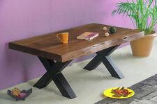 CHENNAI Couchtisch 115x65 Wohnzimmertisch Kaffeetisch Beistelltisch Tisch Massiv