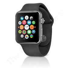 Series 1 Apple Watch Sport 42mm Space Gray Aluminum Case Black Sport MP032LL/A