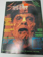 SAMHAIN #17 Oct Nov 1989 Abyss Halloween  rare horror Magazine