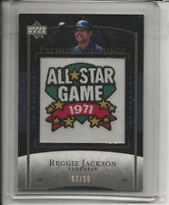 2007 Upper Deck Premier Stitchings Reggie Jackson NEW YORK YANKEES '71 Patch /50