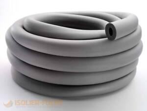Kautschuk Rohrisolierung endlos 18-33m 10mm Dämmdicke Heizung Sanitär 50% EnEV