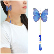 Fashion Women Bohemia Butterfly Vintage Long Tassel Boho Dangle Earrings Jewelry