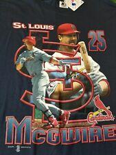 Vintage 1998 MLB St. Louis Cardinals Mark Mcgwire Starter Shirt BNWT