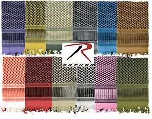 Rothco Shemagh Keffiyeh Scarf 4537 Military Lightweight Tactical Face Head Wrap