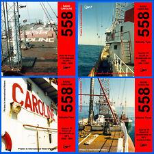 More details for pirate radio caroline 558 vols (1,2,3 & 4) listen in your car free uk postage