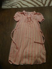 JUICY COUTURE 14 PINK  STRIPED DRESS GIRLS