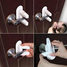 Door Lever Lock (2 Pcs) Child Proof Doors & Handles  Adhesive - Child Safety