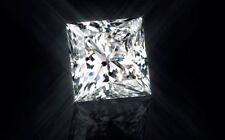 1.24ct Princess-Cut Swarovski Loose Diamond VVS1 6.00mm Single Loose Diamond