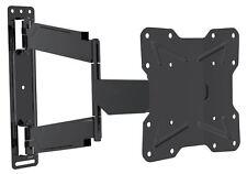 Doble pivote de inclinación y giro curvada de TV de montaje del soporte 17-42 in