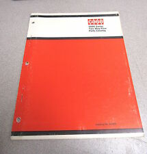 Case 5000 Series Two Way Plow Parts Catalog Manual A1199 1972