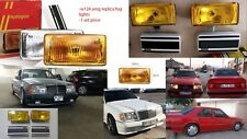 w124 w126 w201 190e 3.2 amg c126 sec Amg Mercedes replica fog light