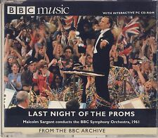 Last Night of the Proms of 1961: Malcolm Sargent & BBC SO (BBC Music) Very Good