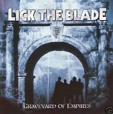 LICK THE BLADE- Graveyard Of Empires US IMP. CD auburn ala Maiden meets BREAKER