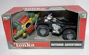 Tonka Outdoor Adventures Playset ATV and Kayak 2004 New in Sealed Box