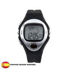 reloj pulsometro contador de calorias para deporte gimnasio (gris)