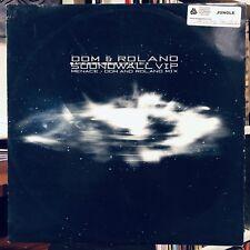 Dom & Roland / Biostacis – Soundwall VIP / Menace (Dom & Roland Mix) VINYL