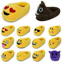 3D Emoji Emoticon Plüsch Schuhe Gadget Hausschuhe Pantoffeln Slippers Schlappen