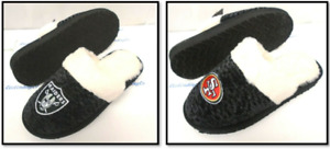 NFL Women's Knit Fur Slide Slippers House Shoes