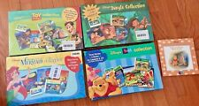 DISNEY LOT Story Collection CD Book Cassette POOH TOYSTORY LITTLE MERMAID TARZAN