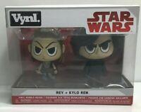 Funko Vynl. Figures 2-Pack - Star Wars - KYLO REN & REY BOBBLE-HEADS New in Box