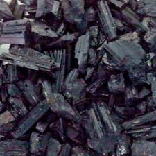 Black Tourmaline Rough Natural Stones: 2 lb Bulk Wholesale Chakra Crystal Raw