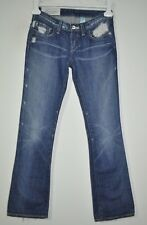 """LOOMSTATE MATRA DISTRESSED JEANS 100% ORGANIC COTTON WOMEN'S SIZE 26 30"""" X 32"""""""