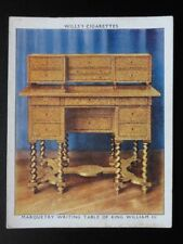 No.4 MARQUETRY WRITING TABLE The King's Art Treasures W.D.& H.O.Wills