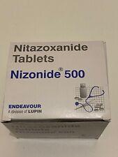 60 anti-parasitic tablets Nizonide (Nitazoxanide) 500MG