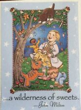 Mary Engelbreit Handmade Magnet-A Wilderness Of Sweets