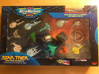 Galoob MICRO MACHINES SPACE STAR TREK Limited Edition Collector's SET