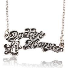 SQUADRA suicida Harley Quinn Daddy's lil MONSTER Fascino Collana Gioielli Borsa Regalo