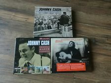 Johnny Cash - At Folsom Prison / At San Quentin (2CD)  plus 2 other cd albums.