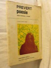 POESIE Jacques Prevert Bruno Cagli Newton Compton 1972 libro di scritto da per