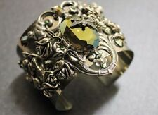 Crystal Silver Plated Cuff Fashion Bracelets