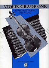 Vintage Partituras 'violín grado un' piezas para examen 1990-1993
