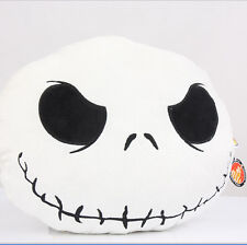 Nightmare Before Christmas Jack Face Soft Plush Pillow Cushiions Valentine's Day