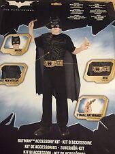 Batman Accessory Kit Dark Knight Superhero Fancy Dress Halloween Child Costume