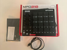 Akai Professional MPD218 MIDI USB Drum Beat Pad Controller w/ Ableton Software