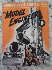 vintage MODEL ENGINEER Magazine, #1, by Lionel Trains Corp.