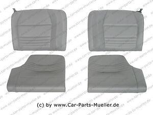PORSCHE 996 986 911 GT3 Carreara S Leder Rückbank Rücksitzbank grau REAR SEAT