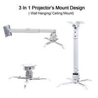 Universal Bracket Load 44lbs Steel Ceiling Adjustable Holder Stand for Projector