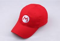 Super Mario Bros Adult Kids Costume Hat Anime Cosplay Red Baseball Cap