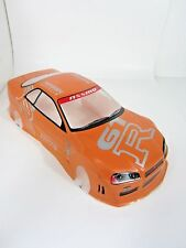 Nismo R34 GTR Orange Painted RC Body 1/10th Scale HPI Traxxas Kyohso Nissan